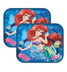 Tienidlo na okno auta 2 ks Ariel morská panna