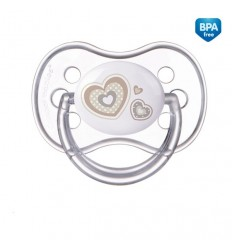 Canpol silikónový cumlík okrúhly Newborn baby 0-6m
