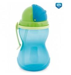 Canpol športová fľaša so slamkou 370 ml