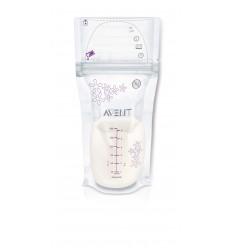 Avent sáčky na materské mlieko 180 ml 25 ks