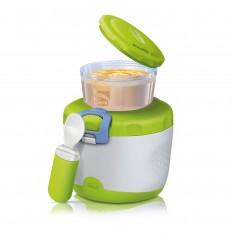 Chicco termoska na jedlo s malým zásobníkom a lyžičkou
