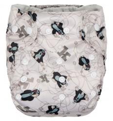 G-mini plienkové nohavičky béžová potlač