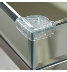 Clippasafe plastová ochrana sklenených rohov 4 ks