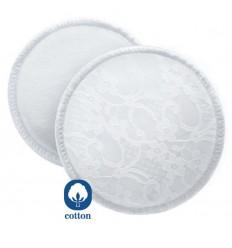 Avent absorpčné vložky bavlnené - pracie - 6 ks