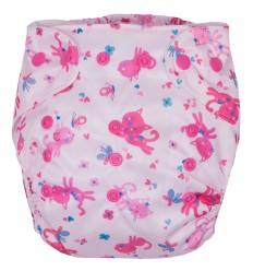 G-mini plienkové nohavičky ružová mačička