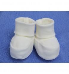Esito kojenecké plyšové papučky 0-3m
