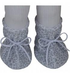 Esito kojenecké plyšové papučky 2-5m vzor žirafa