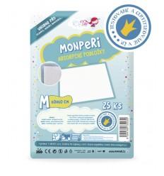 MonPeri hygienické podložky M 60x60 cm, 25 kusov