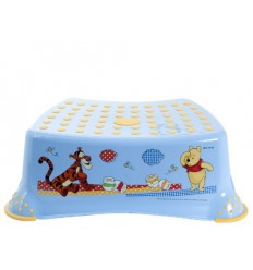 Keeper stupienok k WC/umývadlu Macko pú modrý