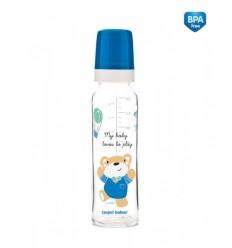 Canpol dojčenská fľaša Sweet Fun 240 ml sklo