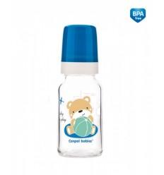 Canpol dojčenská fľaša Sweet Fun 120 ml sklo