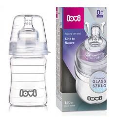 Lovi sklenená dojčenská fľaša 150 ml