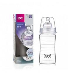 Lovi sklenená dojčenská fľaša 250 ml