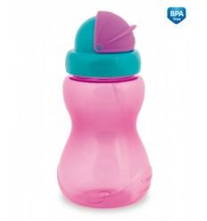 Canpol športová fľaša so slamkou 270 ml