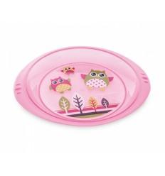 Canpol tanierik plastový sovičky 9m+