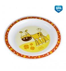 Canpol plastový tanierik veselé zvieratká
