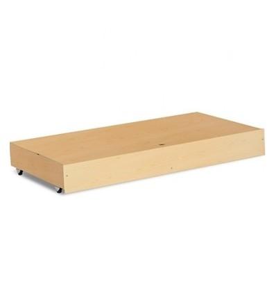 Klupś úložný box pod postieľku 120 x 60 cm borovica