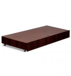 Klupś úložný box pod postieľku 120 x 60 cm orech