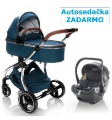 Kočík Zopa Mystic + autosedačka Zopa X1 Plus i-Size