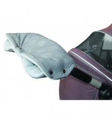 Emitex rukávnik vločka šedý/šedý