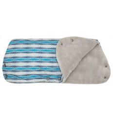 GminiI Joris rukávnik na kočík modrá potlač