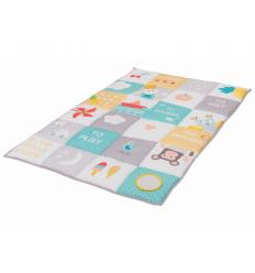 Taf Toys hracia deka s aktivitami I love pastelové farby