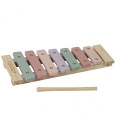 Little Dutch drevený xylofón ružový
