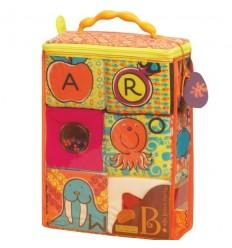 B-Toys textilné kocky Block Party