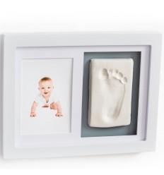 Baby Dab dvojrámik s odtlačkovou hmotou