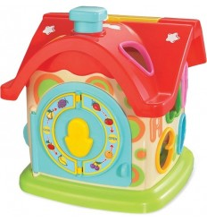 Edukačná hračka baby mix zábavný domček