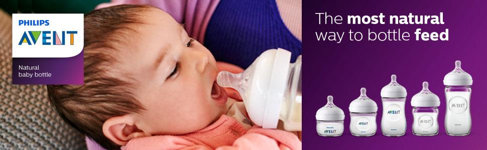 Avent Natural dojčenské fľaše - najlepšia voľba pre mamičky